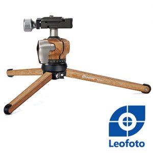 MT-01 + LH-25 ,迷你桌上三腳架套組(木紋色),LEOFOTO,徠圖相機三腳架.雲台