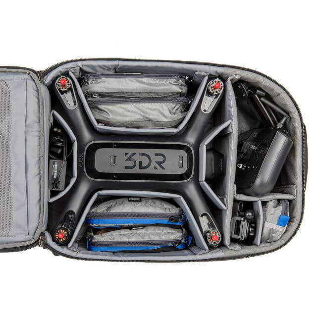 Airport Helipak for 3DR Solo,四軸無人空拍機背包,AH485,ThinkTank photo,創意坦克
