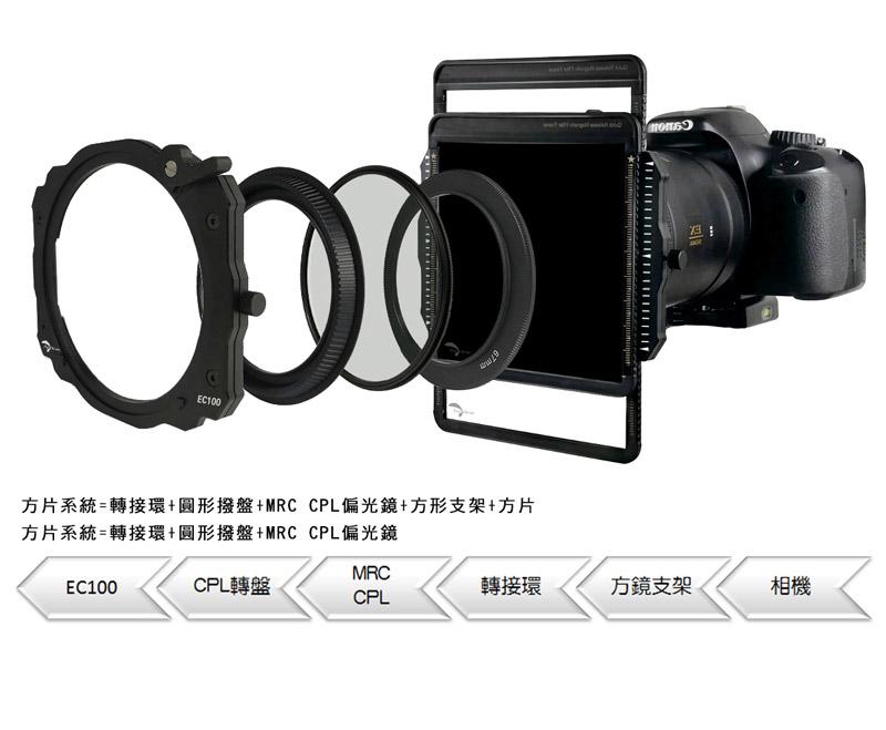 everchrom方形濾鏡支架Holder kit EC100