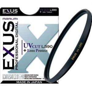 MARUMI,日本專業濾鏡,EXUS,抗紫外線UV鏡L390 保護鏡,防靜電多層鍍膜,防潑水,抗油鍍膜 高透光率 超簿框