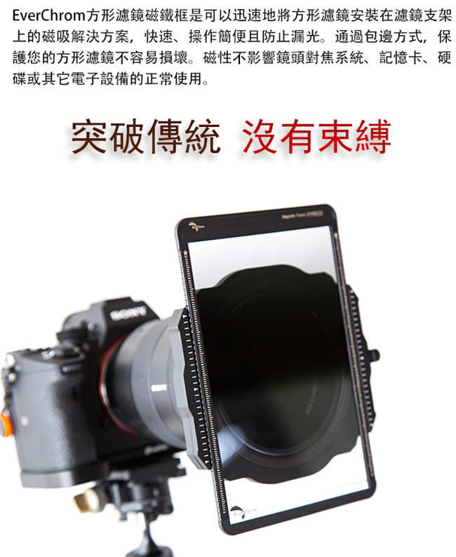 Magnetic Filter Frame,方型鏡磁吸框