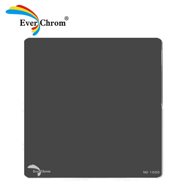 ND1000,方形專用減光鏡,EverChrom,多層鍍膜,超硬防水、防油、防汙膜