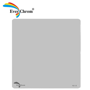 ND 8,方形專用減光鏡,EverChrom,多層鍍膜,超硬防水、防油、防汙膜