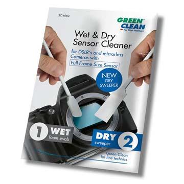 SC-6060,感光元件乾濕清潔棒(大), GREEN CLEAN, 緣色清潔 ,專業清潔相機用品