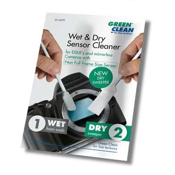 SC-6070,感光元件乾濕清潔棒(小), GREEN CLEAN, 緣色清潔 ,專業清潔相機用品