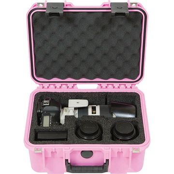 SKB Cases 3I-3I-13096SLRP氣密箱(粉紅色)